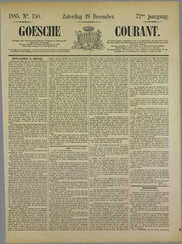 Goessche Courant 1885-12-19