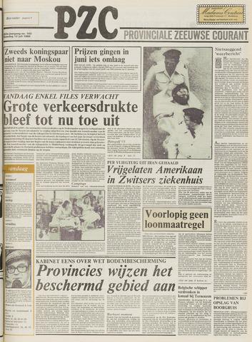 Provinciale Zeeuwse Courant 1980-07-12