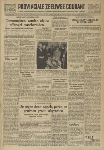 Provinciale Zeeuwse Courant 1951-09-01