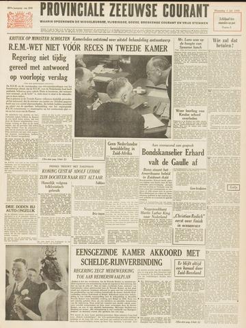 Provinciale Zeeuwse Courant 1964-07-01