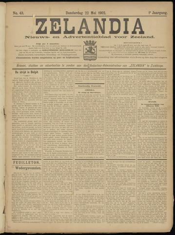 Zelandia. Nieuws-en advertentieblad voor Zeeland | edities: Het Land van Hulst en De Vier Ambachten 1902-05-22