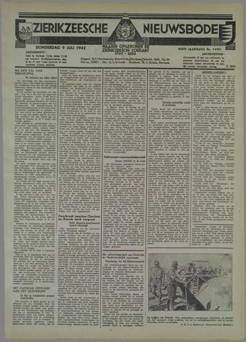 Zierikzeesche Nieuwsbode 1942-07-09