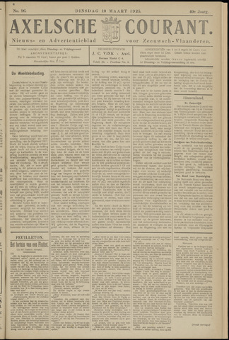 Axelsche Courant 1925-03-10