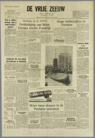 de Vrije Zeeuw 1966-11-18