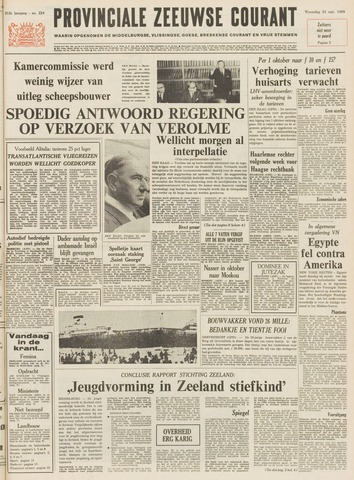Provinciale Zeeuwse Courant 1969-09-24