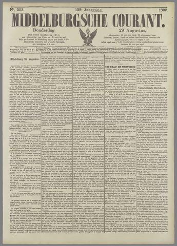 Middelburgsche Courant 1895-08-29