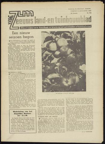 Zeeuwsch landbouwblad ... ZLM land- en tuinbouwblad 1965-08-06