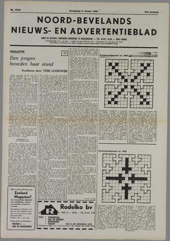 Noord-Bevelands Nieuws- en advertentieblad 1980-10-09