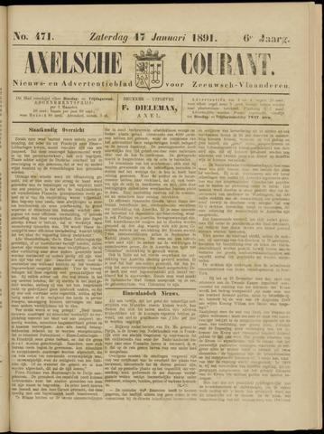 Axelsche Courant 1891-01-17