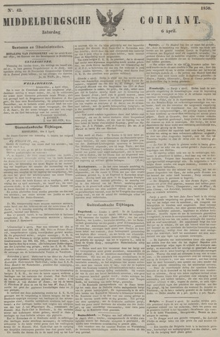 Middelburgsche Courant 1850-04-06