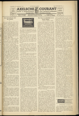Axelsche Courant 1950-04-08