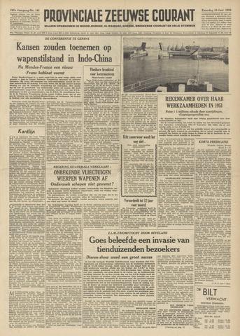 Provinciale Zeeuwse Courant 1954-06-19