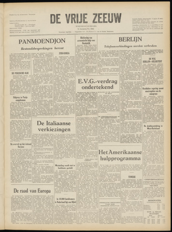 de Vrije Zeeuw 1952-05-28