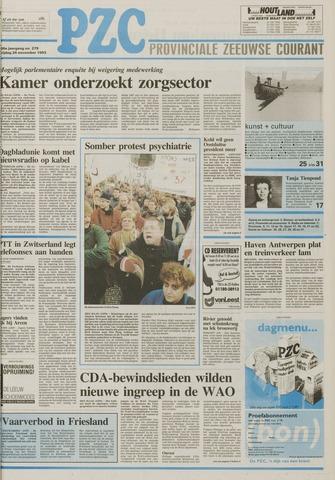 Provinciale Zeeuwse Courant 1993-11-26