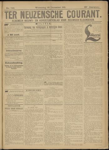 Ter Neuzensche Courant. Algemeen Nieuws- en Advertentieblad voor Zeeuwsch-Vlaanderen / Neuzensche Courant ... (idem) / (Algemeen) nieuws en advertentieblad voor Zeeuwsch-Vlaanderen 1921-12-28