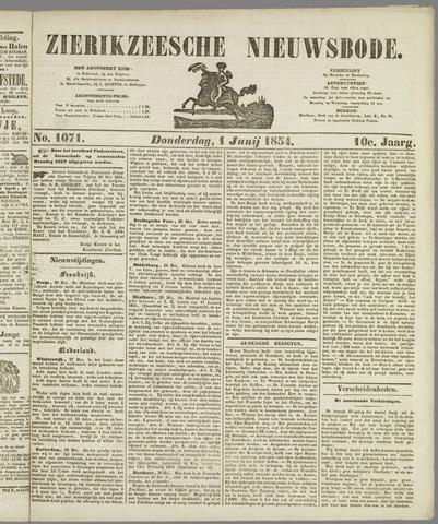 Zierikzeesche Nieuwsbode 1854-06-01