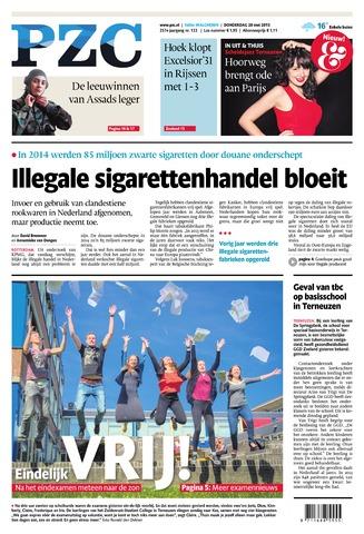 Provinciale Zeeuwse Courant 2015-05-28