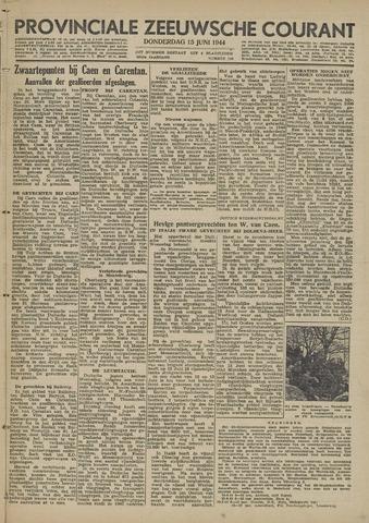Provinciale Zeeuwse Courant 1944-06-15