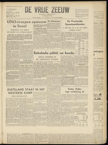 de Vrije Zeeuw 1951-02-12