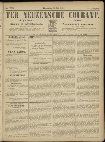 Ter Neuzensche Courant. Algemeen Nieuws- en Advertentieblad voor Zeeuwsch-Vlaanderen / Neuzensche Courant ... (idem) / (Algemeen) nieuws en advertentieblad voor Zeeuwsch-Vlaanderen 1891-07-08