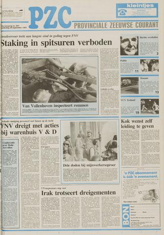 Provinciale Zeeuwse Courant 1991-09-26