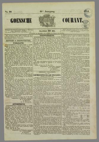 Goessche Courant 1854-05-22