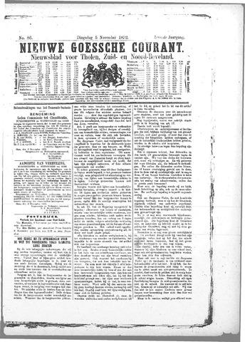Nieuwe Goessche Courant 1872-11-05