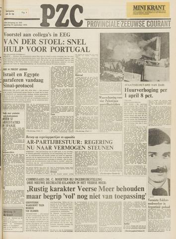 Provinciale Zeeuwse Courant 1975-09-22