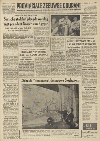 Provinciale Zeeuwse Courant 1957-09-13