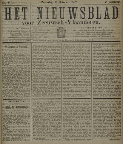Nieuwsblad voor Zeeuwsch-Vlaanderen 1897-10-09