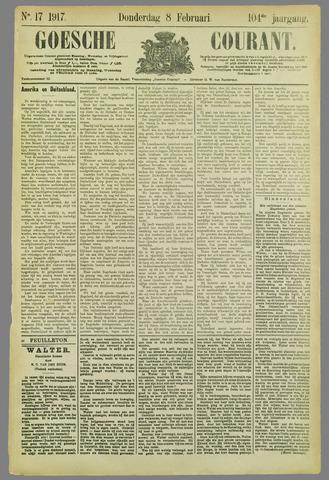 Goessche Courant 1917-02-08
