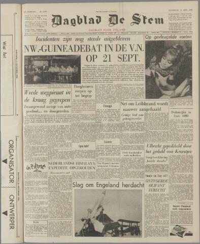 de Stem 1962-09-13