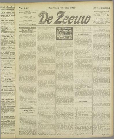 De Zeeuw. Christelijk-historisch nieuwsblad voor Zeeland 1919-07-26