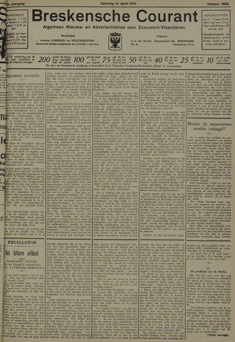 Breskensche Courant 1934-04-14