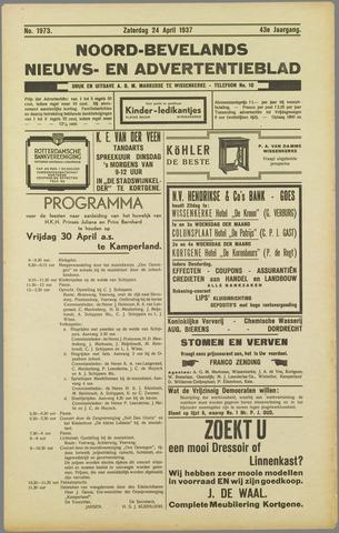 Noord-Bevelands Nieuws- en advertentieblad 1937-04-24