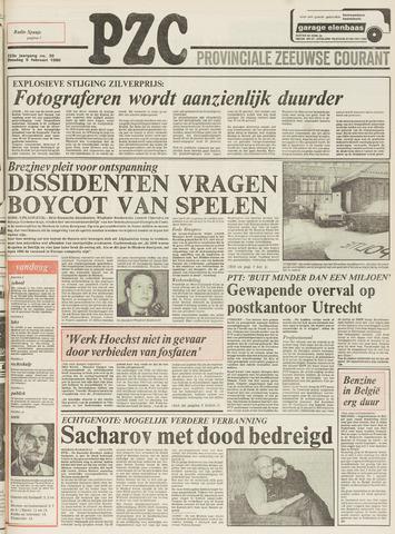 Provinciale Zeeuwse Courant 1980-02-05