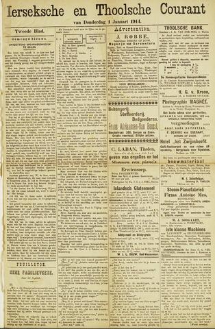 Ierseksche en Thoolsche Courant 1914