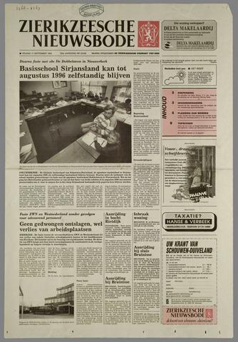 Zierikzeesche Nieuwsbode 1993-09-17