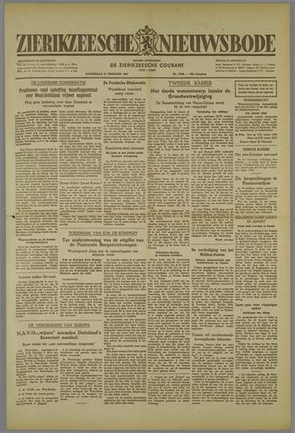 Zierikzeesche Nieuwsbode 1952-02-21