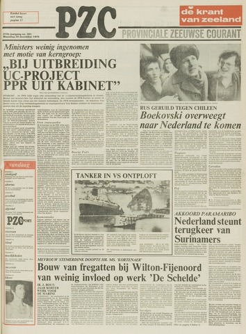 Provinciale Zeeuwse Courant 1976-12-20