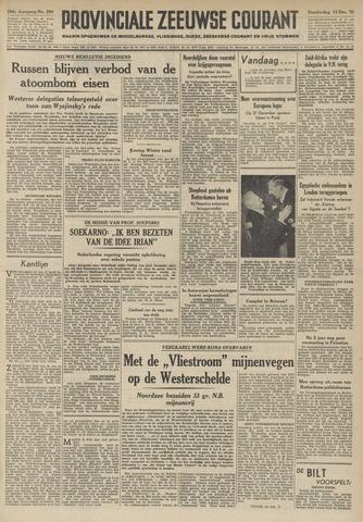 Provinciale Zeeuwse Courant 1951-12-13