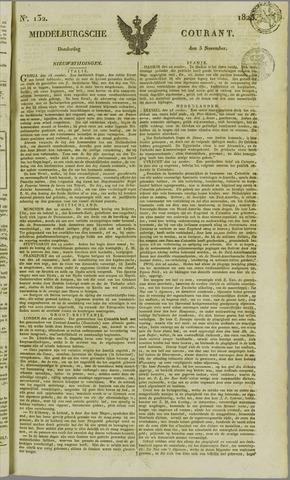Middelburgsche Courant 1825-11-03
