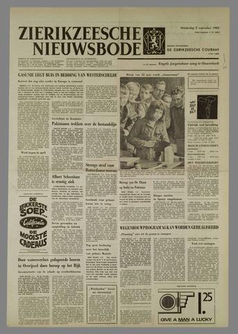 Zierikzeesche Nieuwsbode 1965-09-02