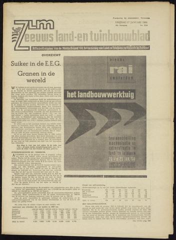 Zeeuwsch landbouwblad ... ZLM land- en tuinbouwblad 1964-01-17