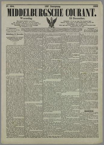 Middelburgsche Courant 1893-12-13