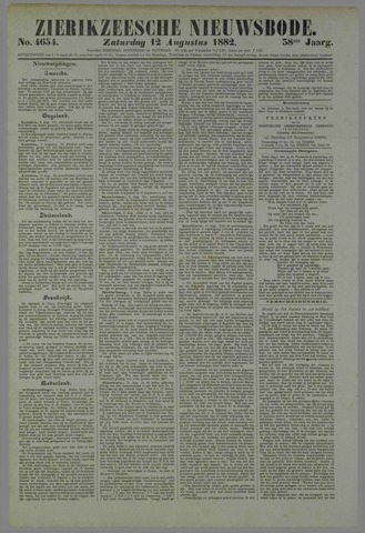 Zierikzeesche Nieuwsbode 1882-08-12