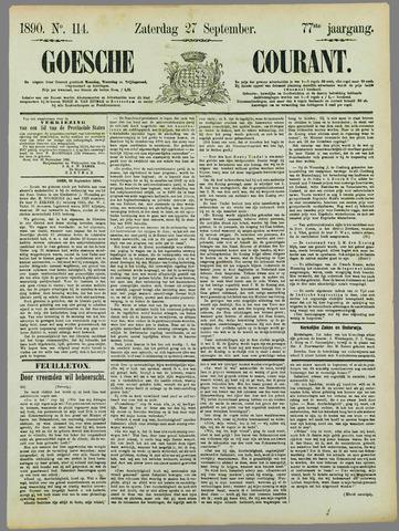 Goessche Courant 1890-09-27