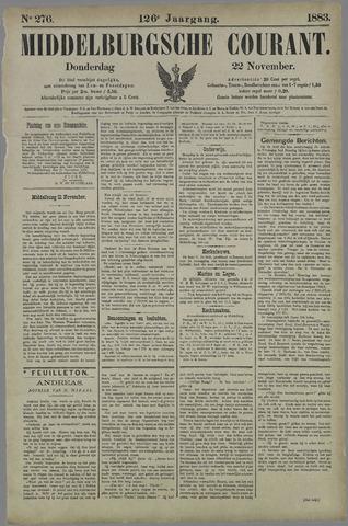 Middelburgsche Courant 1883-11-22
