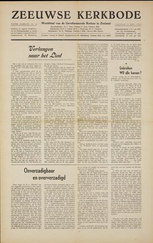 Zeeuwsche kerkbode, weekblad gewijd aan de belangen der gereformeerde kerken/ Zeeuwsch kerkblad 1955-05-13