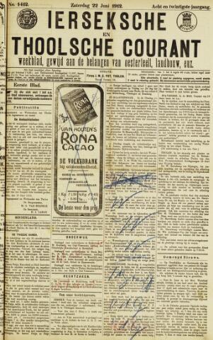 Ierseksche en Thoolsche Courant 1912-06-22